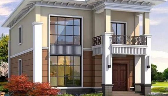 Examples of light steel villa houses