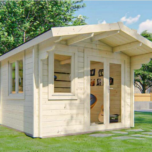 Garden Log Cabins